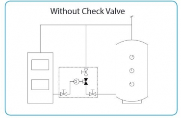 Without Check Valve
