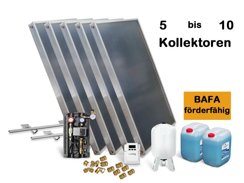 Alpha Solar Solaranlage Fur Heizung Und Warmwasser Amp 10qm