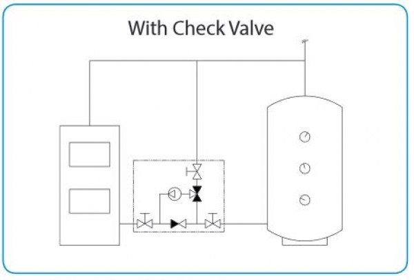 With Check Valve