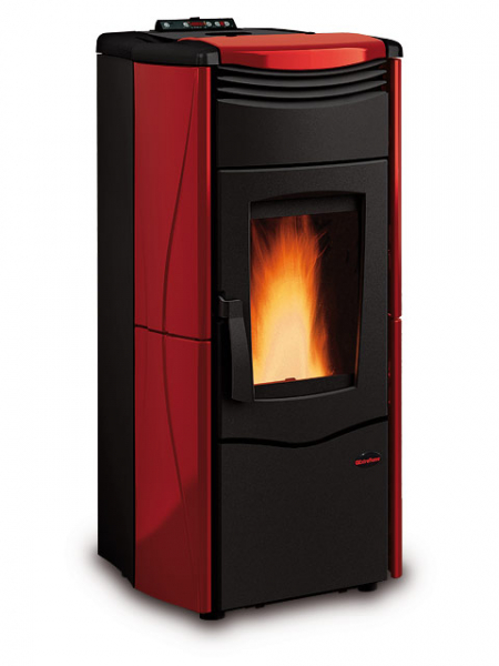 alpha solar extraflame kaminofen pellets melinda idro 4 3 14 kw. Black Bedroom Furniture Sets. Home Design Ideas