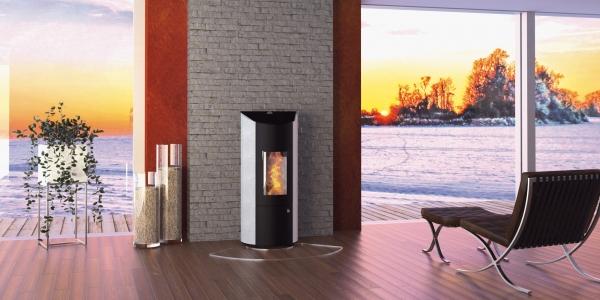 alpha solar kaminofen pelletofen olsberg levana aqua 8 kw. Black Bedroom Furniture Sets. Home Design Ideas